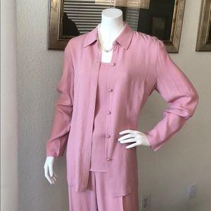 Donna Ricco 3pc Pant Suit Size 10